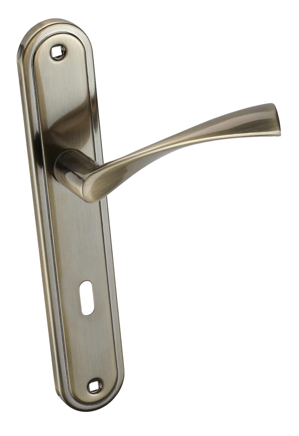 Infinity Line Laura KLR 411 patina 72mm - dveřní štítové kování