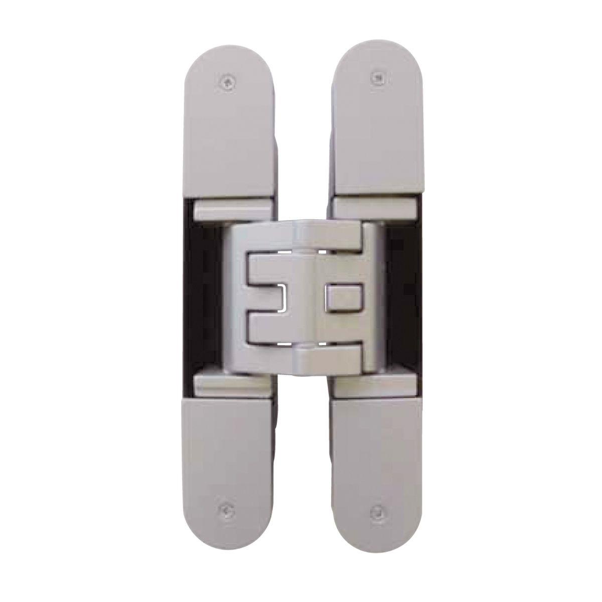 Skrytý dveřní pant KUBICA K5080 - těžké dveře satina chrom