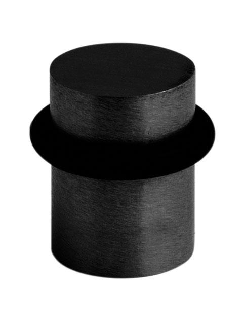 MP kování Zarážka 1699 černá mat INX - broušená nerez