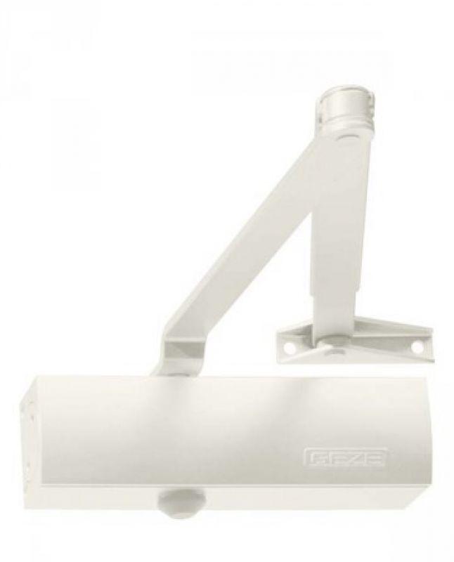 Geze Geze TS 1500 bílý - zavírač dveří s ramenem Bílá SET A - ra