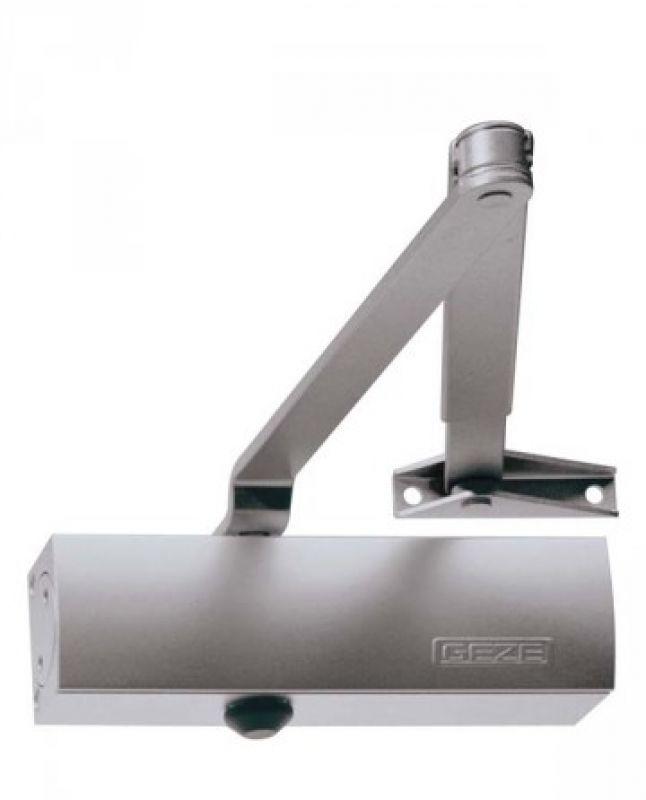 Geze Geze TS 1500 stříbrný - zavírač dveří s ramenem Stříbrná SE