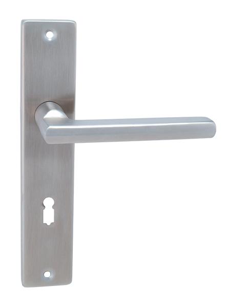 Daniela SH štítové kování z nerez oceli INX - Nerez ocel 72 mm B