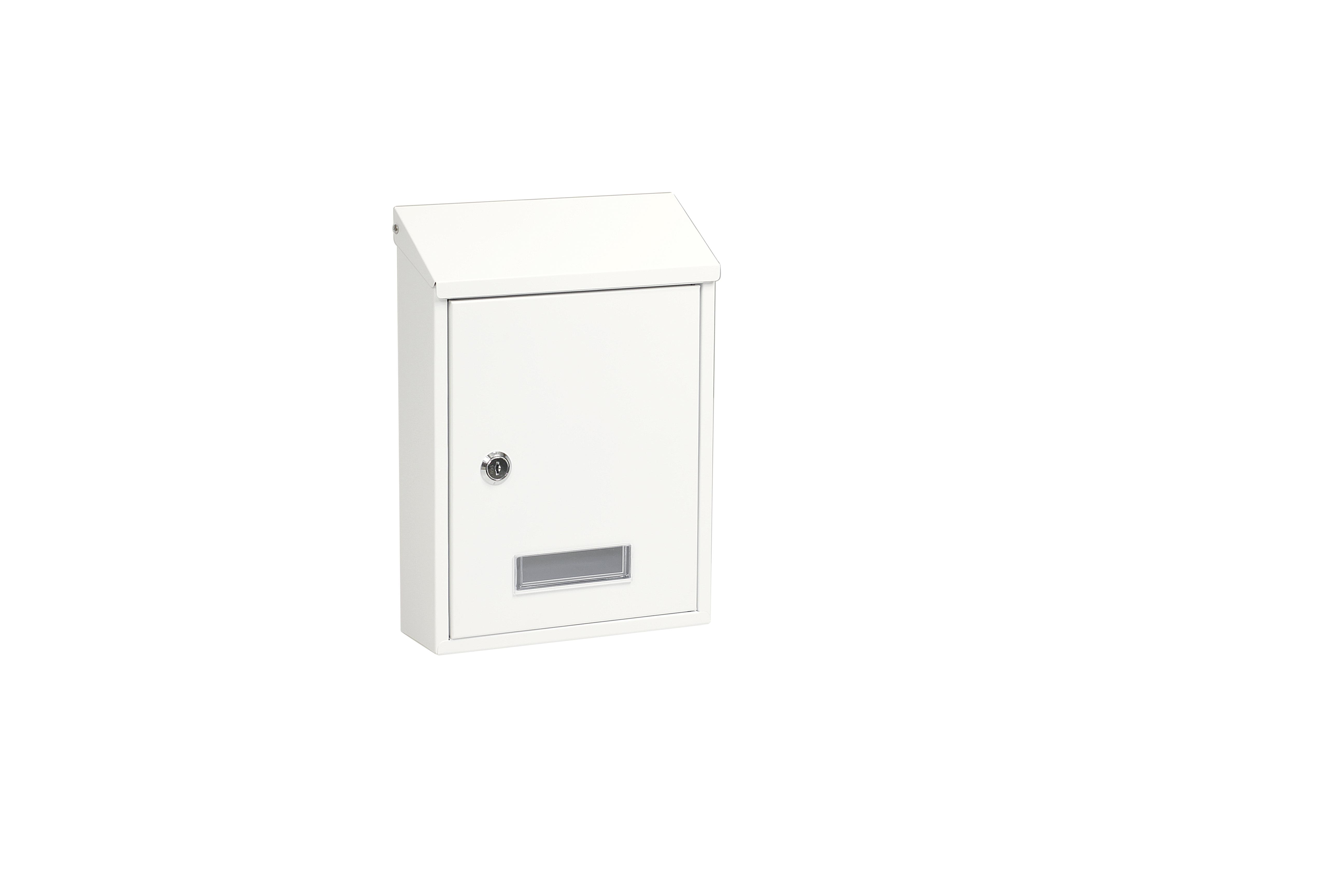 Poštovní schránka BK.33 - bílá Ocel bílá