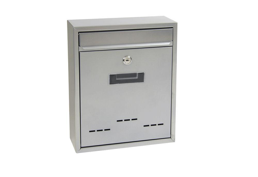 Poštovní schránka BK.20D - stříbrná Ocel stříbrná