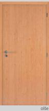 Protipožární dveře - plné - CPL olše Levé 80 cm PZ zámek (cylind