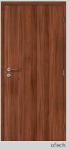 Protipožární dveře - plné - CPL ořech Pravé 90 cm PZ zámek (cyli