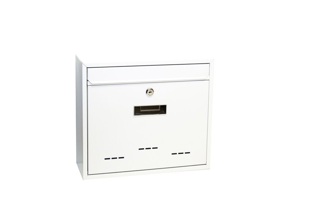 Poštovní schránka BK.31D Ocel bílá