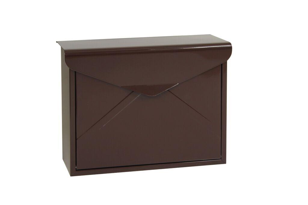 Poštovní schránka BK.57 - hnědá Ocel hnědá