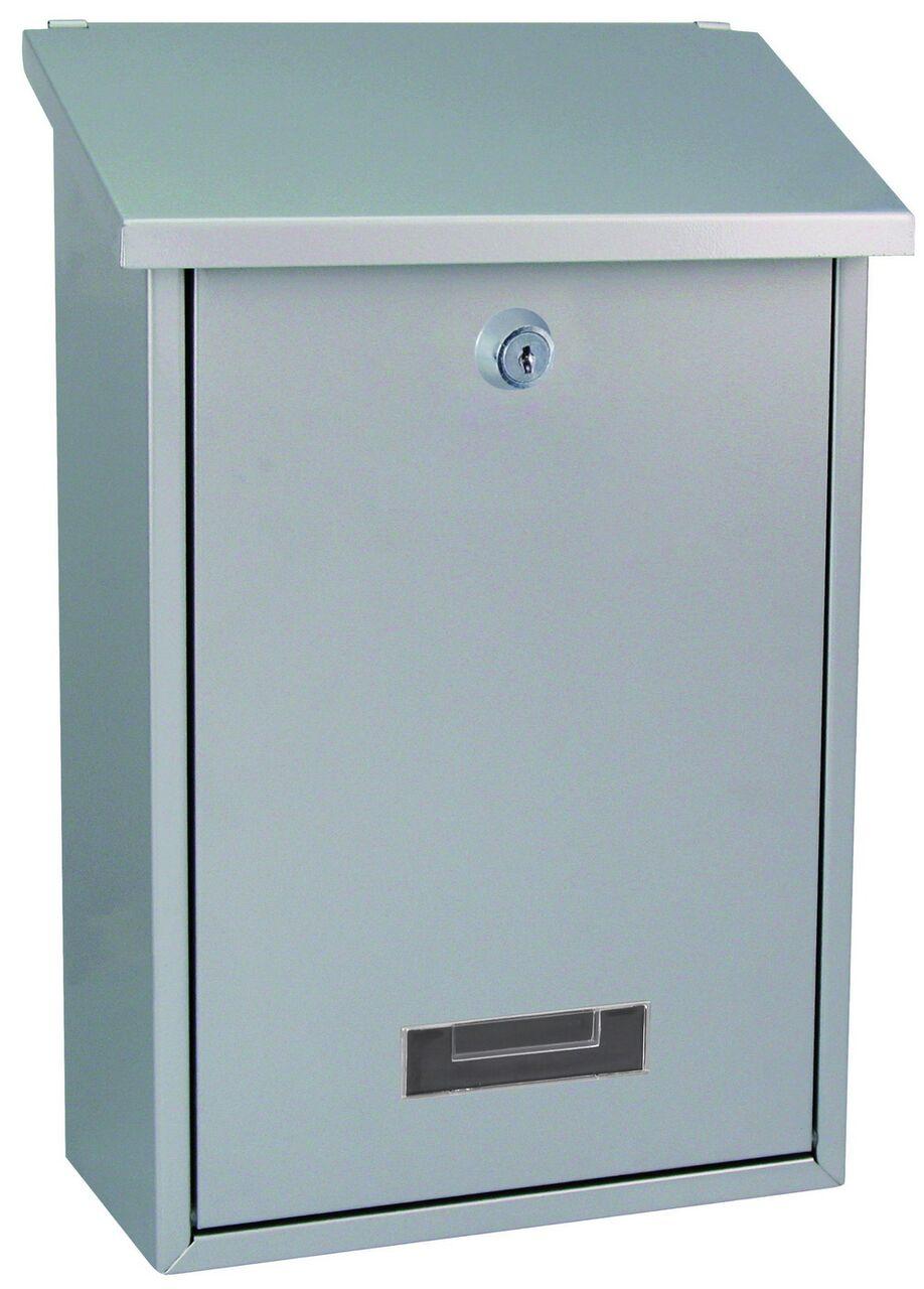 Poštovní schránka BK.70 - stříbrná Ocel bílá