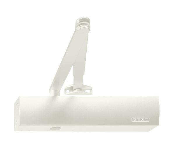 Geze Geze TS 2000 V bílý - zavírač dveří s ramenem Bílá SET S -