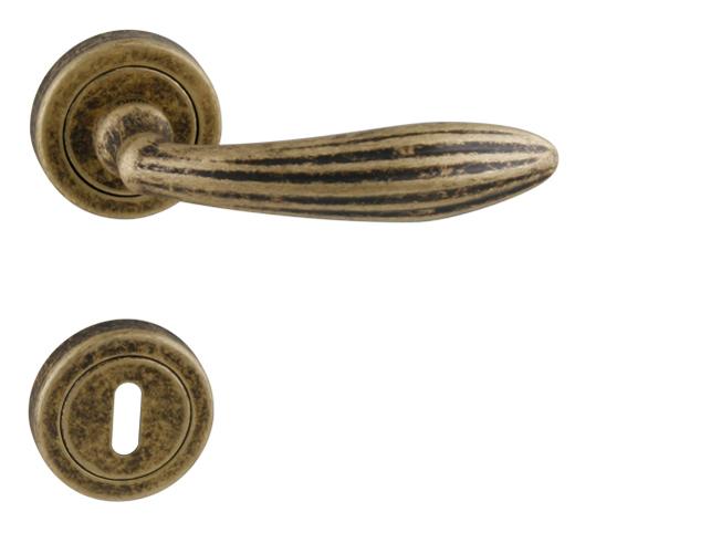 Sofia R exkluzivní rozetové kování brnoz česaný mat