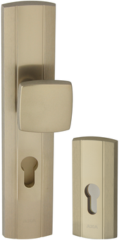 Prestige K+G vchodové kování F1 - Stříbrný mat anodovaný 72 mm