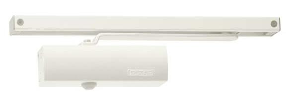 Geze Geze TS 1500 G bílý - zavírač dveří s kluznou lištou Bílá S