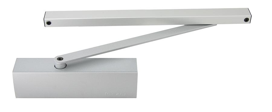 Geze Geze TS 1500 G stříbrný - zavírač dveří s kluznou lištou St