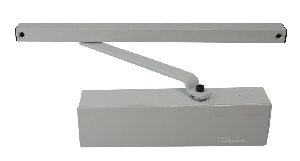 Geze Geze TS 3000 V stříbrný - zavírač dveří s kluznou lištou St