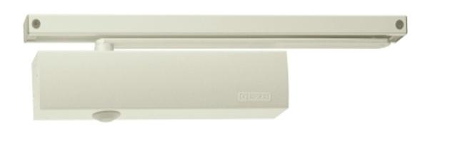 Geze Geze TS 5000 bílý - zavírač dveří s kluznou lištou Bílá SET