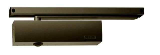 Geze Geze TS 5000 hnědý - zavírač dveří s kluznou lištou Hnědá S