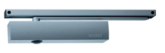 Geze Geze TS 5000 stříbrný - zavírač dveří s kluznou lištou Stří
