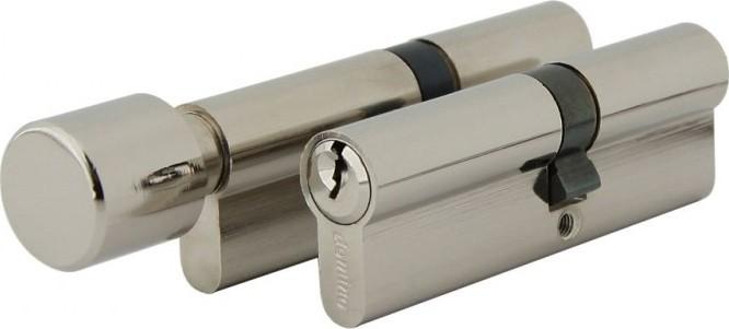 Souprava vložek EURO XStar třída 4 + 6ks klíčů matný nikl koule