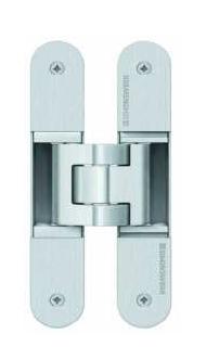 Dveřní pant Simonswerk Tectus 340 3D - 80kg F1 vzhled elox - 1ks
