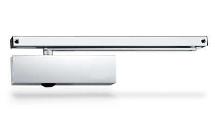 Geze Geze TS 3000 V bílý - zavírač dveří s kluznou lištou Bílý S